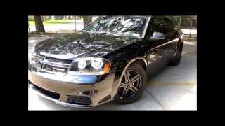 2013 Dodge Avenger H&R springs and straight pipe exhaust
