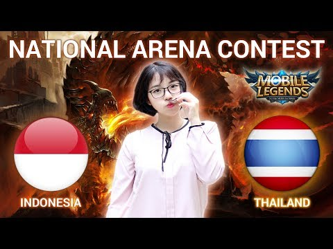 INDONESIA VS THAILAND - National Arena Contest Cast by Kimi Hime - 19/02/2018