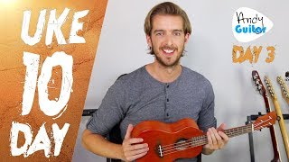 Ukulele Lesson 3 - Easy Songs with 4 Simple Chords