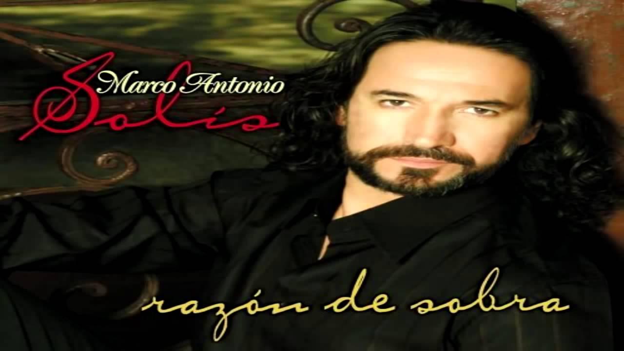 Más que tu amigo Marco Antonio Solís Letra - YouTube