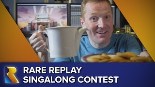 Rare Replay Opening Number: Singalong Contest