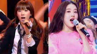 [이어폰 필수] 소녀시대, STAYC 힘내 좌우 음성