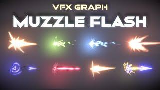 Unity VFX Graph - Muzzle Flash Effect Tutorial