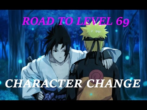 Naruto Online | Road to Level 69 - Main Character Change