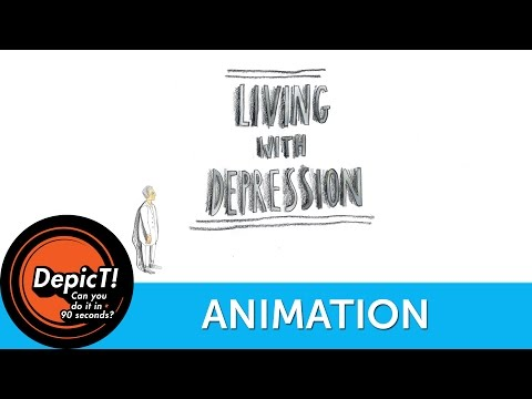 LIVING WITH DEPRESSION | Short Film Fridays: Hot Off The Press | DepicT! 2012 | Watershed