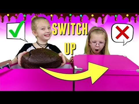 MYSTERY BOX Of CAKE Switch Up Challenge