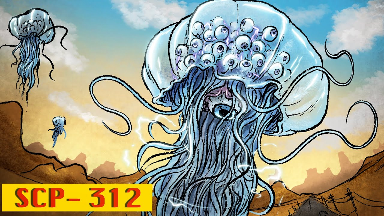 SCP - 312 | Atmospheric Jellyfish : SCP Animation