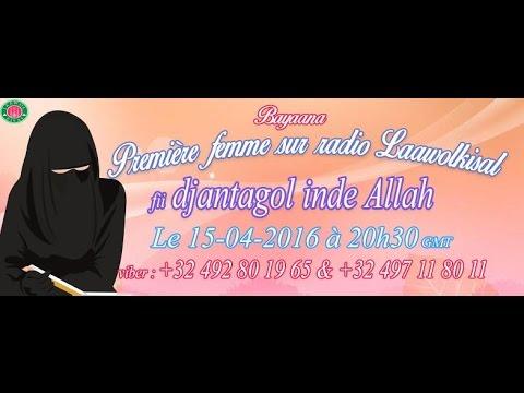 Hadja Oumar Yéro (Espagne) : Fii Djantagol Inde Allah P 1 ( radio laawol kisal)