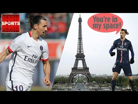 ZLATAN To Leave PSG [Unless A Zlatan Statue Replaces The Eiffel Tower!]