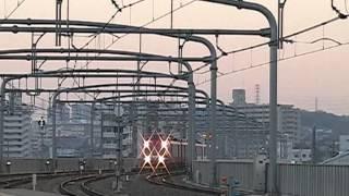 名鉄7000系鳴海入線ミュージックホーンフル ~長い電笛