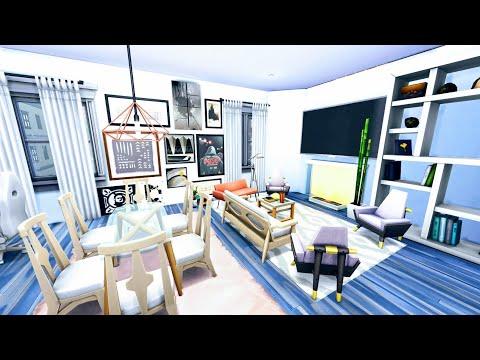 APARTAMENTO MÃE SOLO ( Flet Single Mother) The Sims 4•