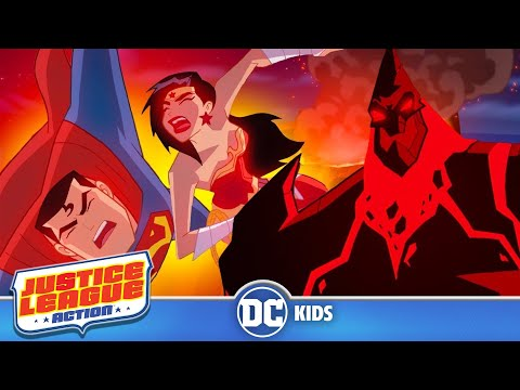 Justice League Action | Outsmarting Aliens