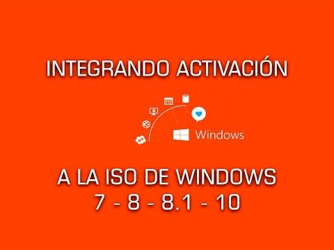 Integrar activación y logos OEM en Windows 7, 8, 8.1, 10