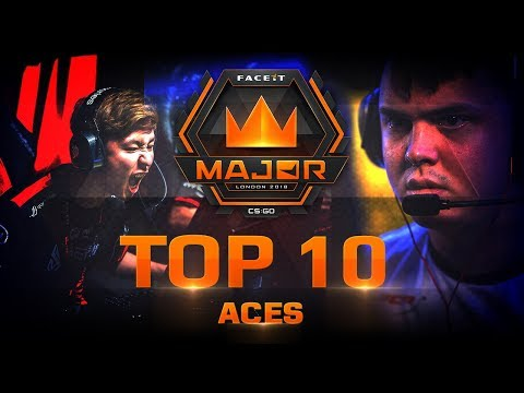 TOP 10 Aces of FACEIT London Major