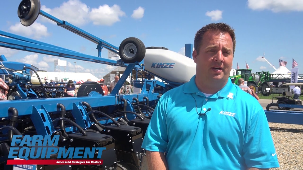 Kinze Showcases Prototype Split Row Planter Youtube
