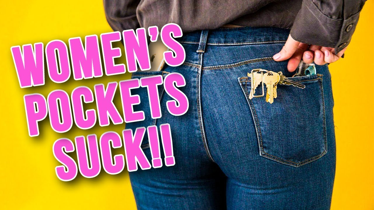 A Rant on Women's Pockets (THEY SUCK!)