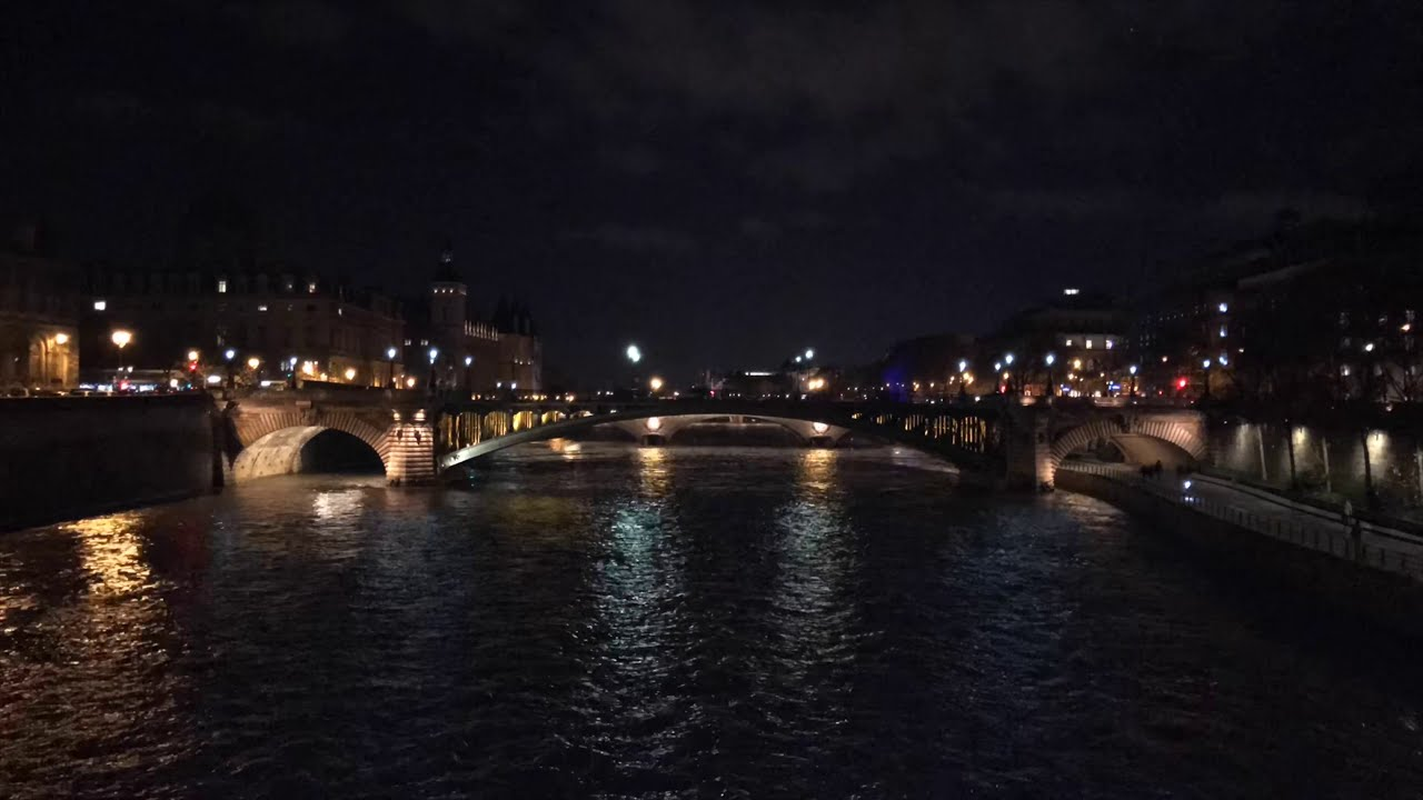 THE REDEYE TO PARIS:  A Projection Poem by Ishmael von Heidrick-Barnes
