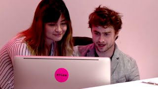 Daniel Radcliffe Fills In For Magazine Receptionist | What's Trending Now