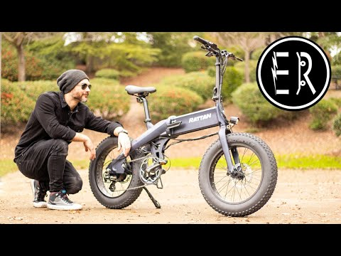 SUPER STRONG FOLDER AT AN INCREDIBLE PRICE! Rattan XL electric bike review + GIVEAWAY RESULTS!!!