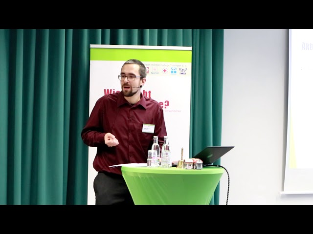 Projektstand, Hagen Mittelstädt, Fachtag Jena 5.11.2019
