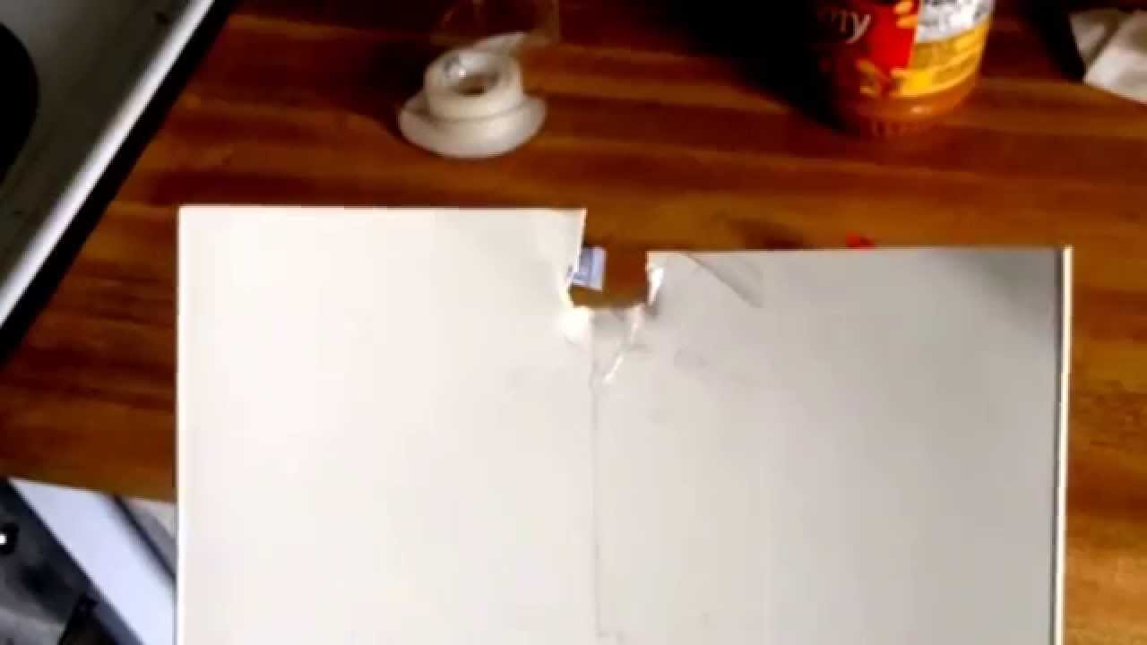 How To Easily Fix Broken Vertical Blind Slat Diy Youtube