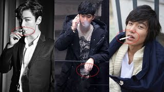 10 Idol And Actors Who Surprisingly Stress Smoke