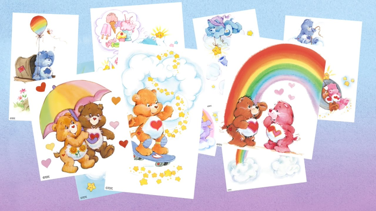 Care Bears Classics Digital Collectibles Series Trailer Youtube
