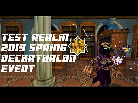 Repeat Wizard101: TEST REALM 2019- DECKATHALON EVENT by Connor
