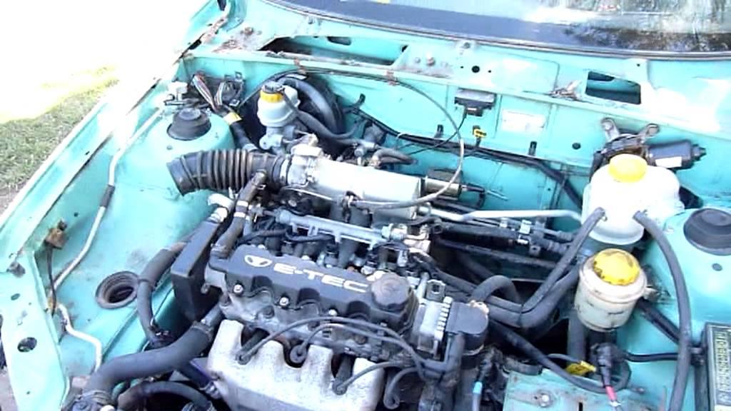 Daewoo Lanos Motor Diagram