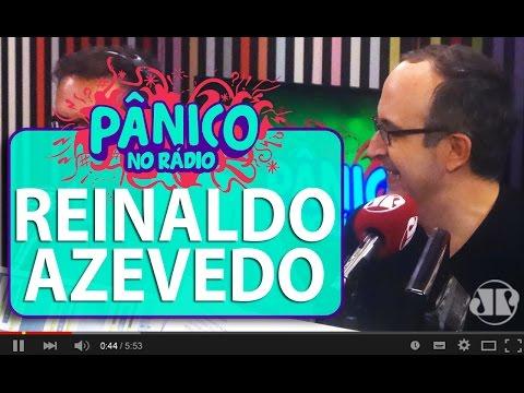 Reinaldo Azevedo Fala Sobre Proibição De Doações Legais Para Campanha | Pânico