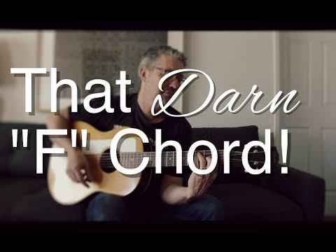 "That Darn ""F"" Chord | Tom Strahle | Easy Guitar | Basic Guitar | Barre Chords"