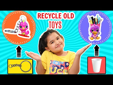 DIY Ideas to Recycle Old TOYS | ToyStars