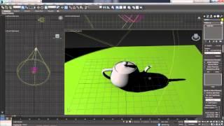 3D Max. Урок №40. Алгоритмы создания теней.