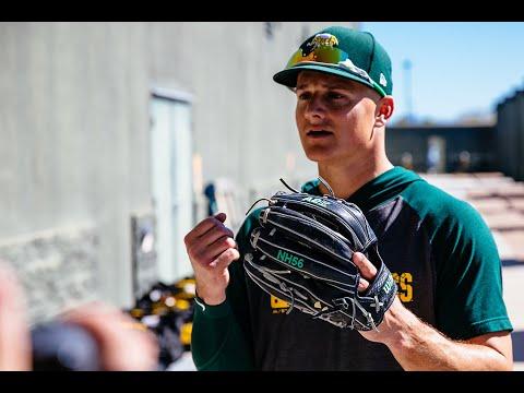2020 Wilson Glove Day Oakland Athletics