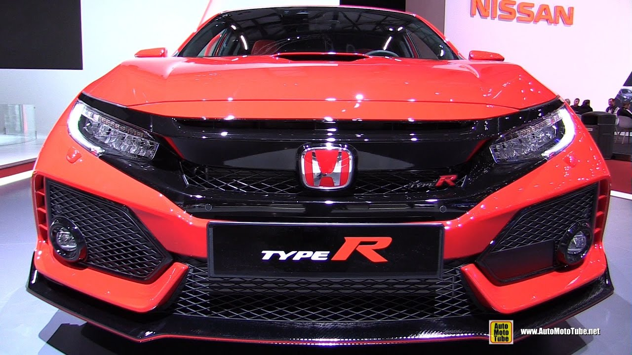 2018 honda civic interior.  Civic 2018 Honda Civic Type R  Exterior And Interior Walkaround 2017 Geneva  Motor Show Inside Honda Civic Interior