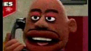 Dave Chappelle does Crank Yankers