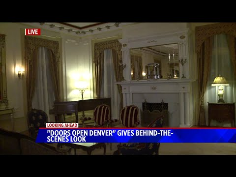 BEARDO - Doors Open Denver gives behind the scenes look at Governor`s mansion