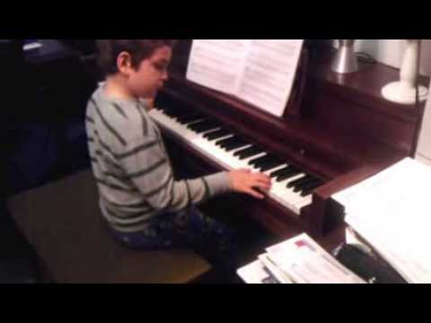 seven year old playing the halloween theme song - Who Wrote The Halloween Theme Song