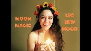 Moon Magic - Leo New Moon - July 31, 2019