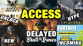 Skull And Bones Delayed - Unlock SOD 2! Dark Souls/Detroit Human Release - Fortnite Android Info