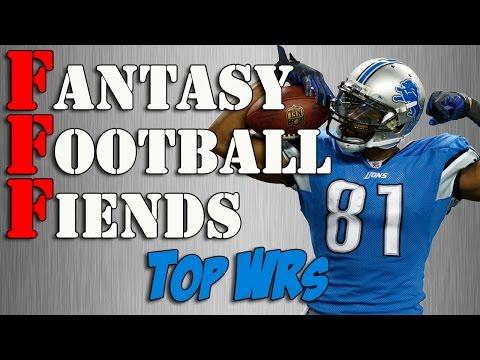 2014 Fantasy Football Wide Receiver Rankings || #FantasyFootball Fiends