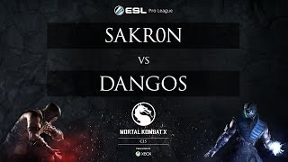 Sakr0n vs Dangos - ESL MKX Pro League [CIS] - Week 2