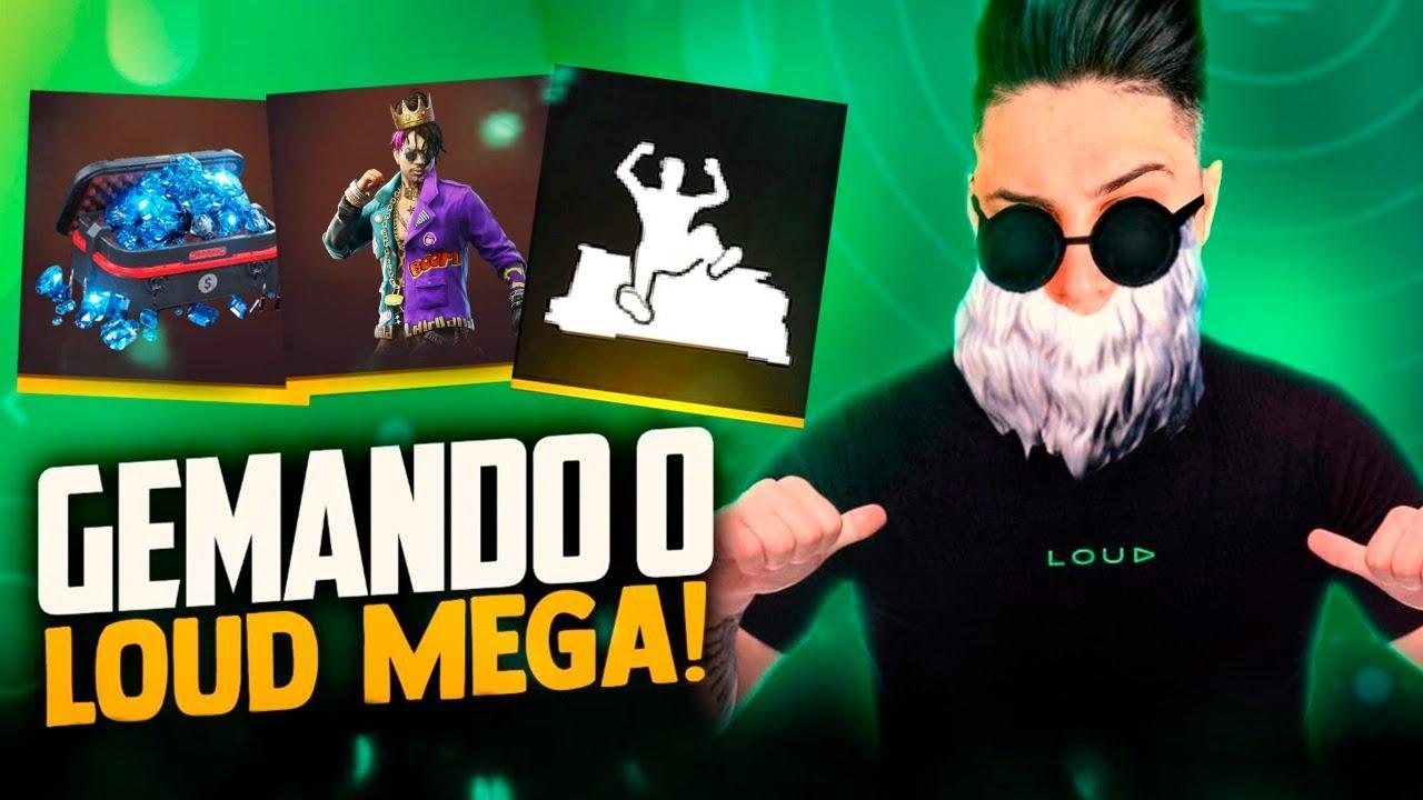 ❤️ ZERANDO TUDO NA CONTA MAIS RARA DO FF ❤️ EL MEGA ! SOLO RANKED !🔴FREEFIRE AO VIVO - LIVE