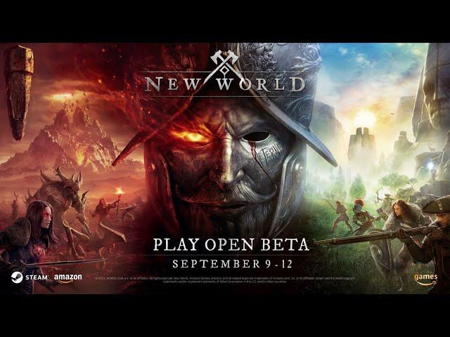 New World  Chart Your Fate Trailer - Open Beta Begins September 9th!