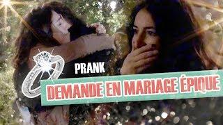 Pranque : La demande en mariage épique de mon pote ! / French proposal prank thumbnail