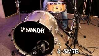 Kick-Drum-Mic-Shootout @ Soundation Studio Germany -9 Mics-