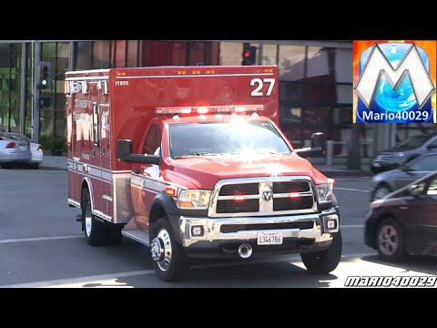 Los Angeles emergency vehicles (compilation)