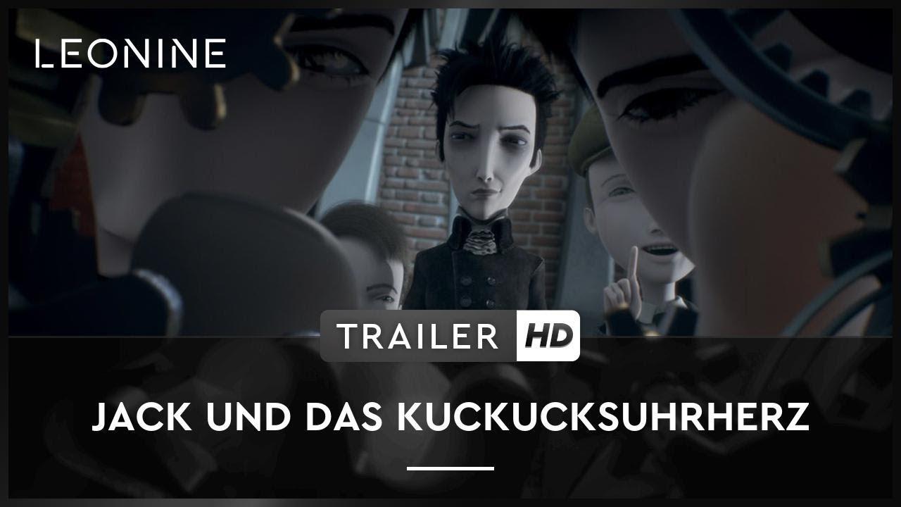 Jack Und Das Kuckucksuhrherz Trailer Deutsch German