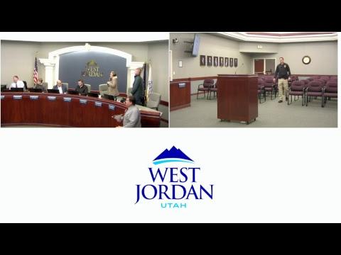 City of West Jordan, Utah - Live Stream - February 19, 2019