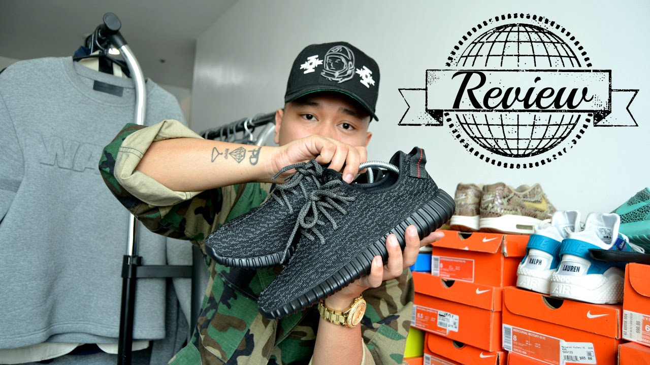Adidas Yeezy Boost 350 Pirate negro review   sobre pies YouTube